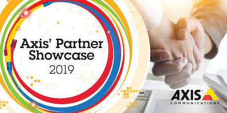 Axis Communications Partner Showcase 2019 tickets