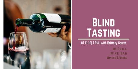 BLIND Wine Tasting Event tickets