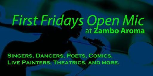 First Fridays Open Mic