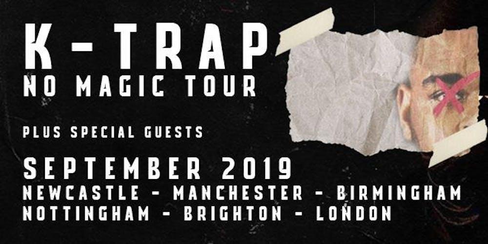 K-Trap: No Magic Tour