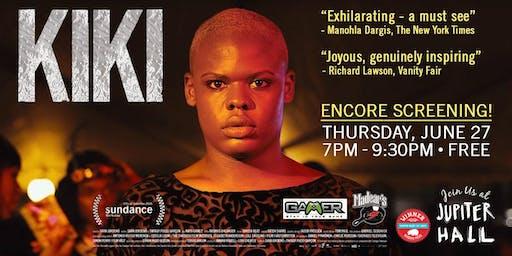 Encore Film Screening of KIKI at Jupiter Hall!