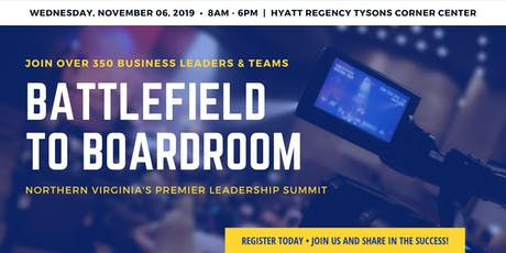 Battlefield to Boardroom Leadership Summit 2019 tickets