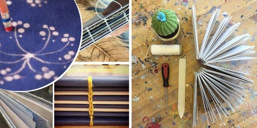 Open Studio - from Bleach Print to Bookbinding