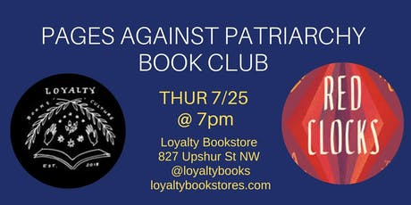 Book Club: Pages Against Patriarchy reads Red Clocks tickets
