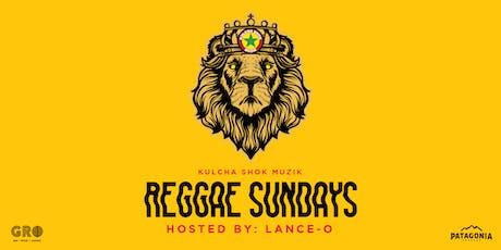 Reggae Sundays at GRO Wynwood tickets