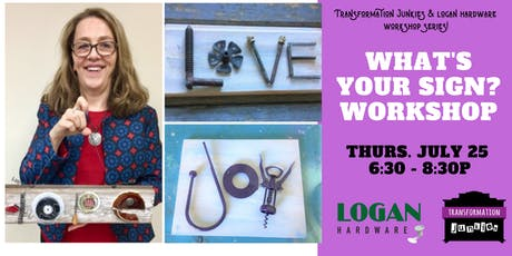 What's Your Sign? Workshop tickets