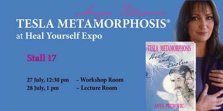 Tesla Metamorphosis at Heal Yourself Expo – Maroochydore, Sunshine Coast tickets