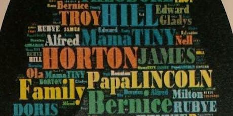 Hill-Horton Family Reunion 2019 tickets