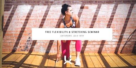 Flexibility & Stretching Seminar tickets