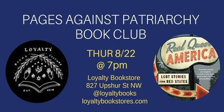 Book Club: Pages Against Patriarchy Reads Real Queer America tickets