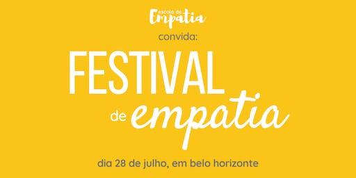 1º Festival de Empatia em Belo Horizonte