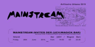 Anfiteatro Urbano // with DER (Ucv /The Magick Bar)