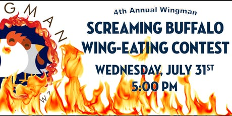 4th Annual Screaming Buffalo Wing-Eating Contest tickets