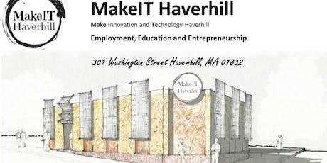 MakeIT Haverhill Collaborative Workspace FREE Event tickets