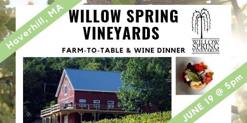 Willow Spring Dinner & Wine Tasting