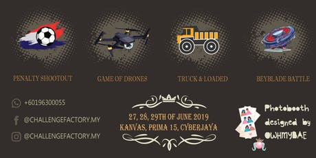 Challenge Factory Playzone @ Wau Raya Charity Sales Cyberjaya tickets