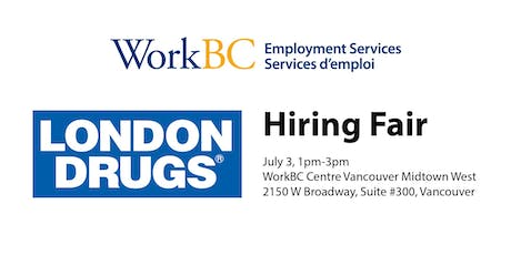 London Drugs Hiring Fair tickets