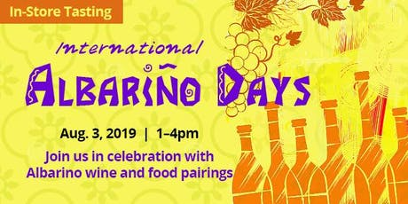 In-Store Tasting: International Albariño Days tickets