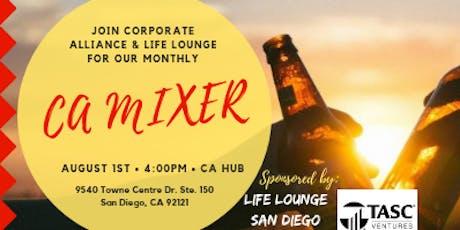 Corporate Alliance August Mixer tickets