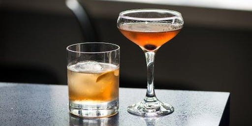 Day Drinking Manhattans and Old Fashions- Naperville