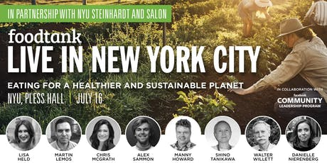 Conversations About Food: Food Tank Live in NYC Speakers Series tickets