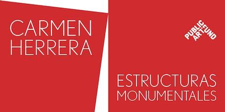 Carmen Herrera Opening Artwork Viewing- 7.10.18 tickets