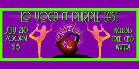 Purple East Yoga led by Lo Yoga tickets