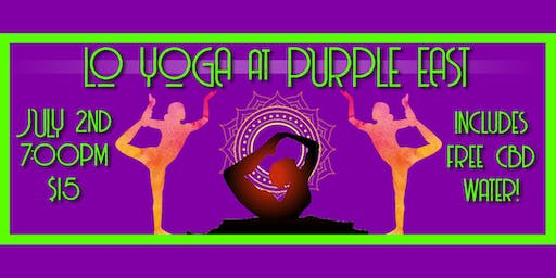 Purple East Yoga led by Lo Yoga