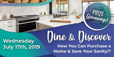 DINE AND DISCOVER:  Homebuyers Workshop