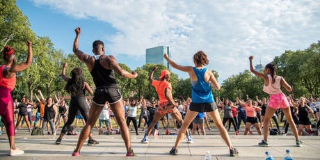 River Fit: Zumba led by Healthworks at the Hatch Shell tickets