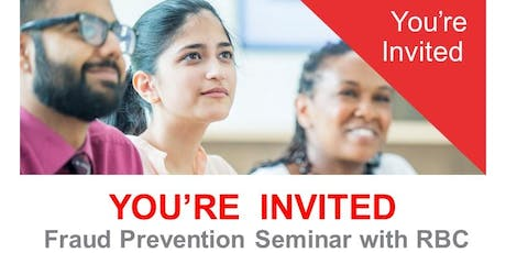 Fraud Prevention Seminar with RBC tickets
