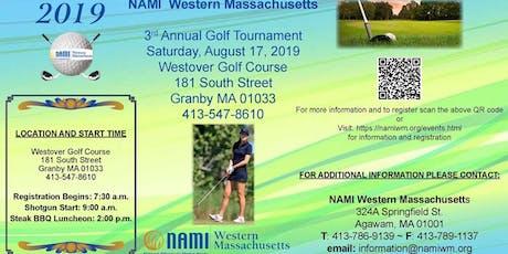 NAMI Western Massachusetts 3rd Annual Golf Tournament tickets
