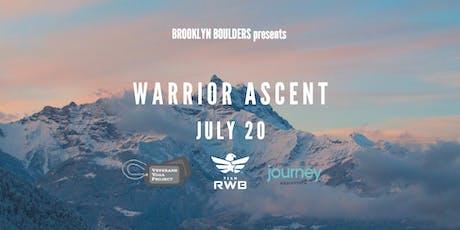 Warrior Ascent 2019 tickets