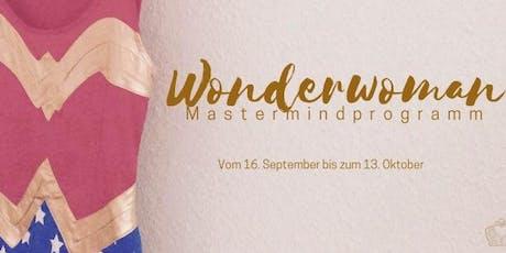 Wonderwoman Mastermindprogramm I Starter Paket Tickets