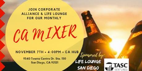 Corporate Alliance November Mixer tickets