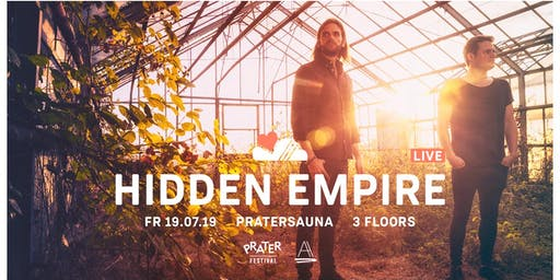 LUFT & LIEBE x ART ATTECH w/ HIDDEN EMPIRE LIVE | Pratersauna