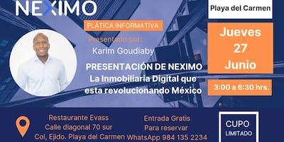 Presentación Neximo en Playa del Carmen