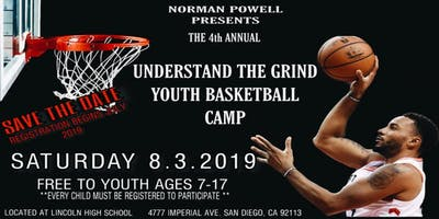 "4th Annual ""Understand The Grind"" Norman Powell Youth Basketball Camp"