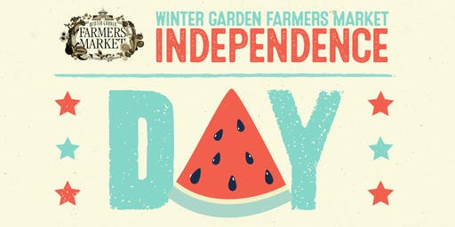 Farmers Market Independence Day Celebration-Winter Garden