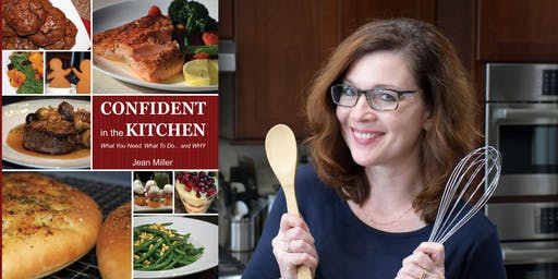 CONFIDENT in the KITCHEN - Book Signing