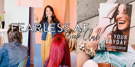 Fearless AF Book Club tickets