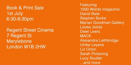 University of Westminster MA Photography PRINT & BOOK SALE tickets