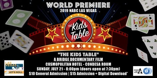 """THE KIDS TABLE"" World Premiere! // A Feature Bridge Documentary"