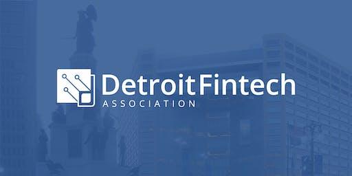 Detroit Fintech Association Event 7/24/19