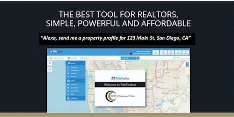Hey Realtors ...What's in YOUR Toolbox? tickets