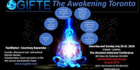 GIFTE's The Awakening Toronto tickets