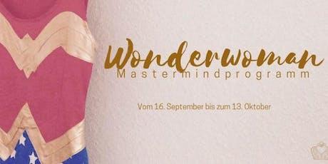 Wonderwoman Mastermindprogramm I Intensiv Paket Tickets