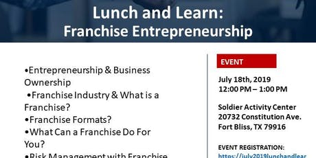 Lunch and Learn: Franchise Entrepreneurship tickets