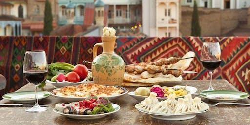 My World Travel International Dinner: (The Country of) Georgia