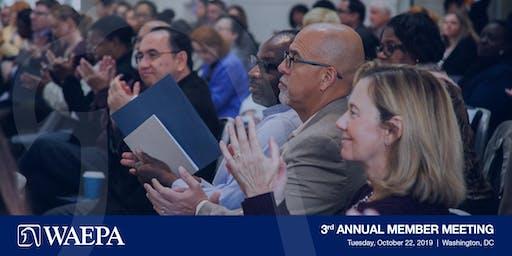 3rd Annual WAEPA Member Meeting